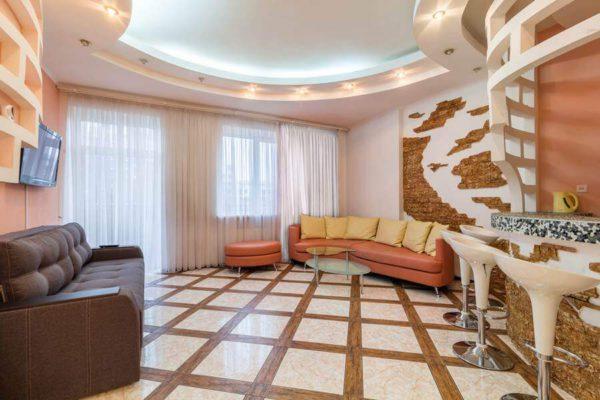 Трехкомнатные апартаменты Жуковского 21А
